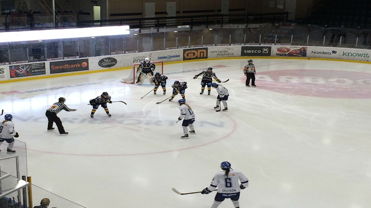 Sundsvall Wildcats damer Leksands IF