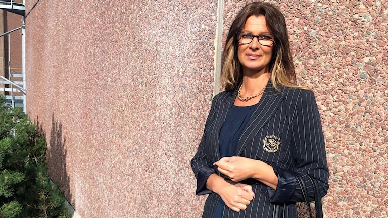 Ann-Catrine Karlsson, rektor på Nivrenaskolan.