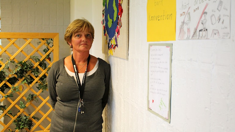 Else-Britt Fjäll, lärare Junsele.