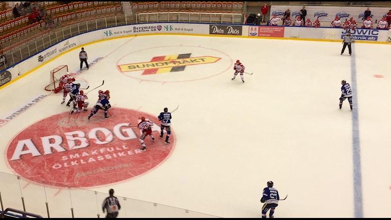 Timrå IK vann mot Karlskoga hemma