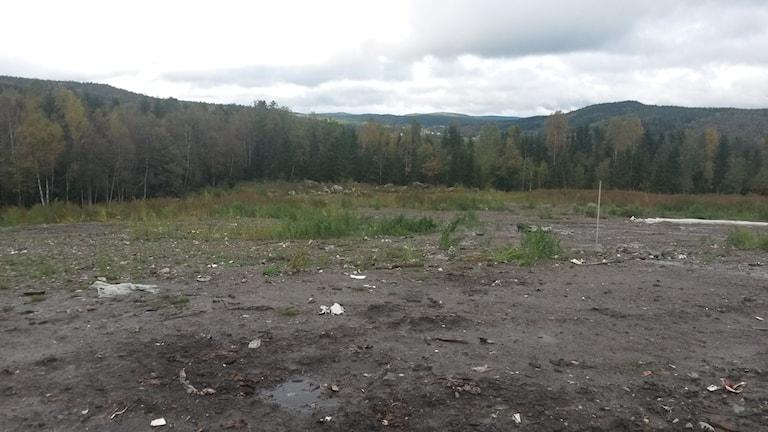 Älands återvinningsanläggning i Härnösand. Foto: Hemab