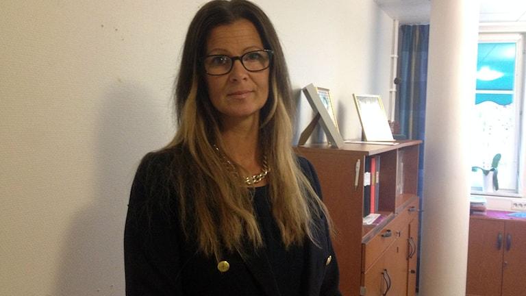Ann-Catrine Karlsson rektor på NIvrenaskolan.