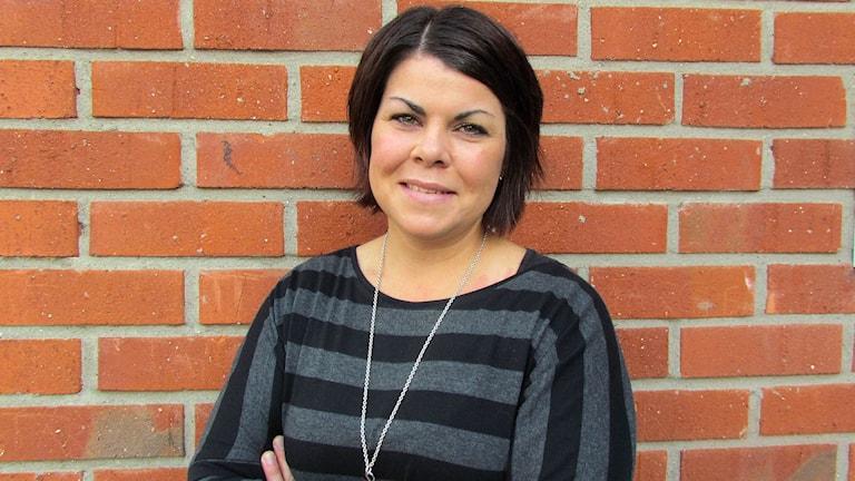 Malin Larsson (S), ordförande i socialnämnden i Sundsvall. Foto: Ann-Charlotte Carlsson/SR