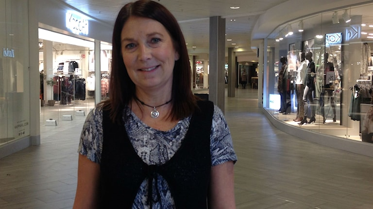 Anna-Lena Wessén, centrumchef i Birsta City