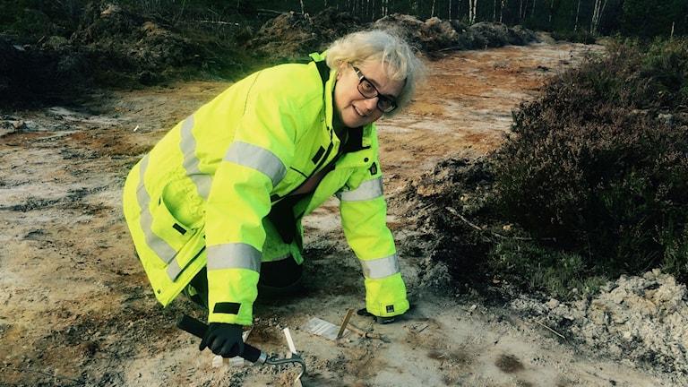 Anette Färjare, arkeolog