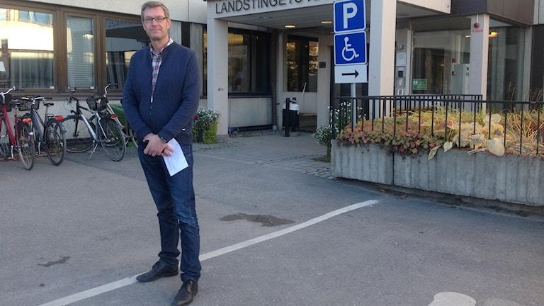 Erik Lövgren, landstingsråd.