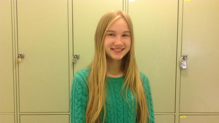 Adelina Söderlind. Foto Ulla Öhman