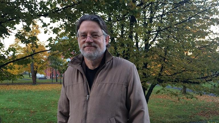 Per Hammarström har forskat om judarna i Norrland. Foto Ulla Öhman