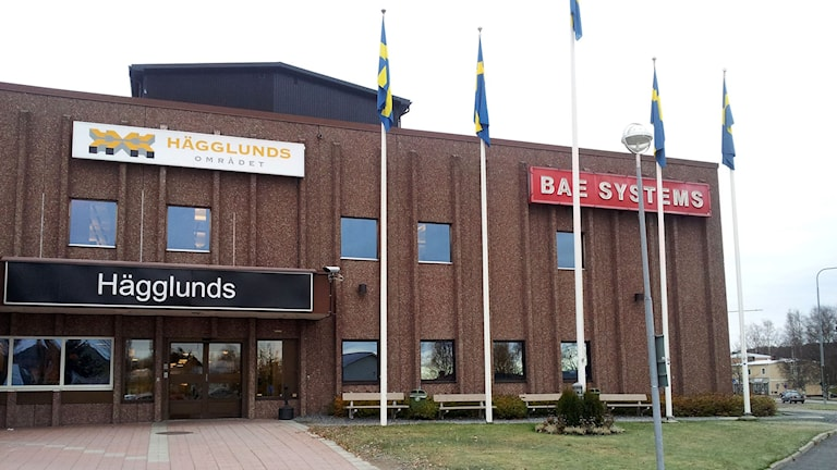 BAE Systems Hägglunds i Örnsköldsvik. Foto: Peter Hansson/SR