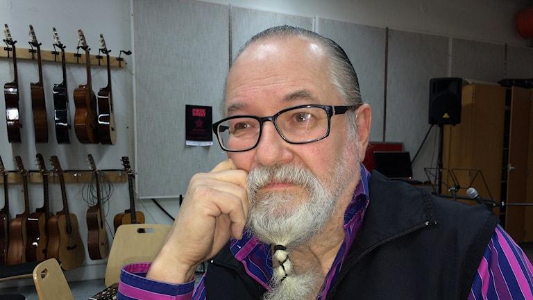 David Thölix är god man till Frida. Foto Ulla Öhman