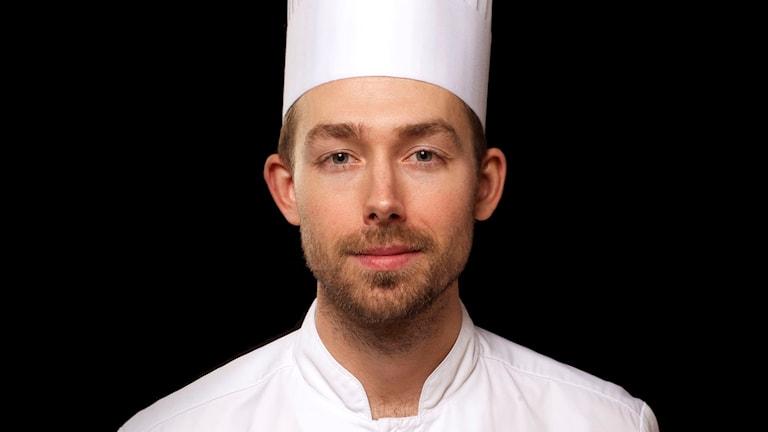 Johan Backeus från Sundsvall uttagen till final i Årets kock. Foto: Jesper Fermgård