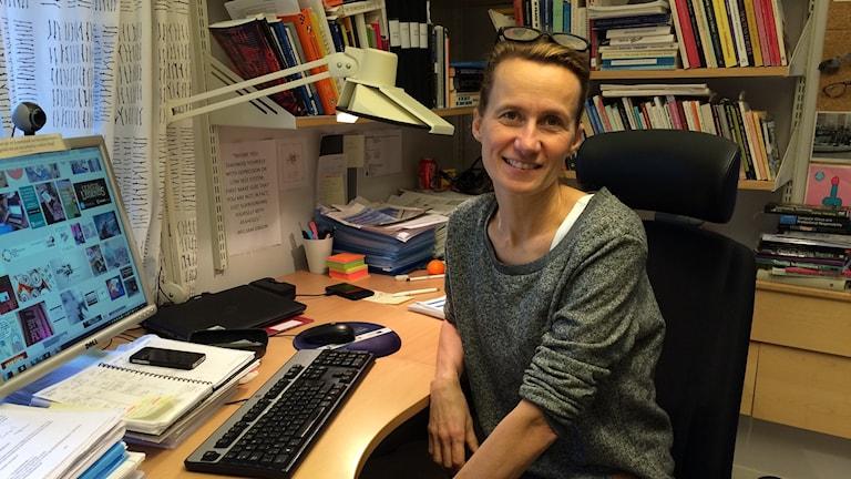 Katarina Lindblad Gidlund , professor i informatik vid Mittuniversitetet i Sundsvall.
