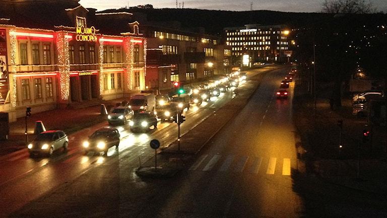 Gamla E4 i Sundsvall