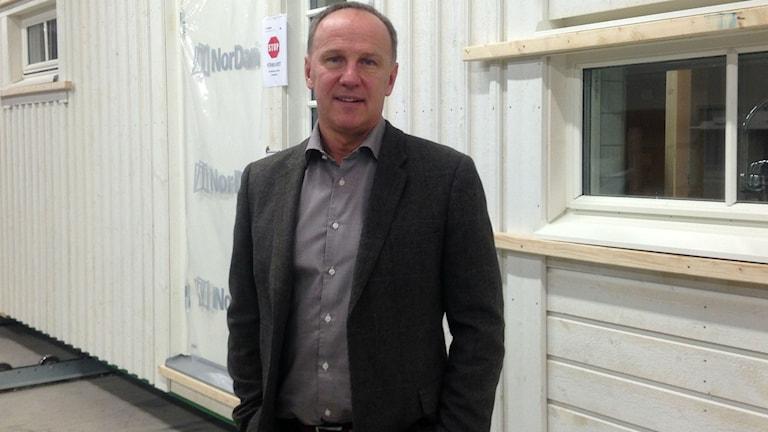 Börje Ottosson, säljare på Smålandsvillan och Myresjöhus.