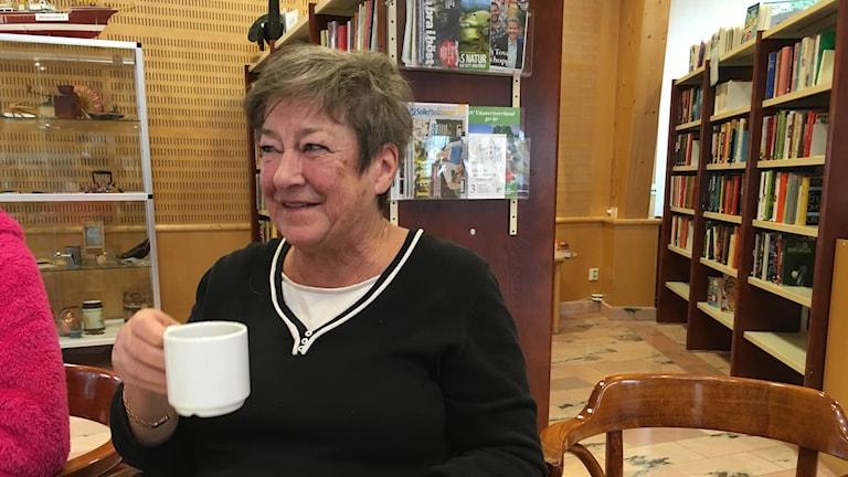 Inger Bergström i Graninge.