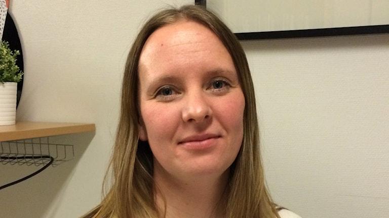 Susanne Wåger, Programansvarig rektor Timrå gymnasium. Foto: Ingrid Engstedt Edfast/SR