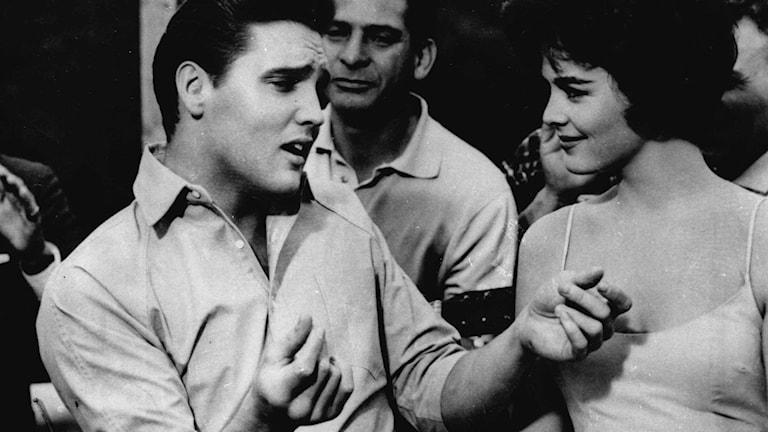 Visste du att Elvis spelade in en låt som heter Smorgasbord ? Foto: AP/TT