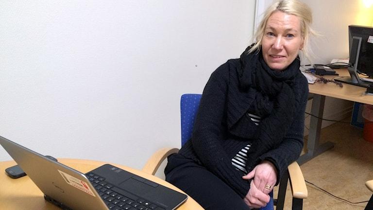 Camilla Nilzén, kommunikationsdirektör Sundsvalls kommun.