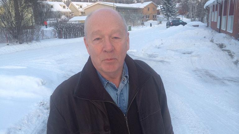 Viljo Furöstam från Rombäck i Torpshammar. Foto: Gunilla Lindros/Sveriges Radio