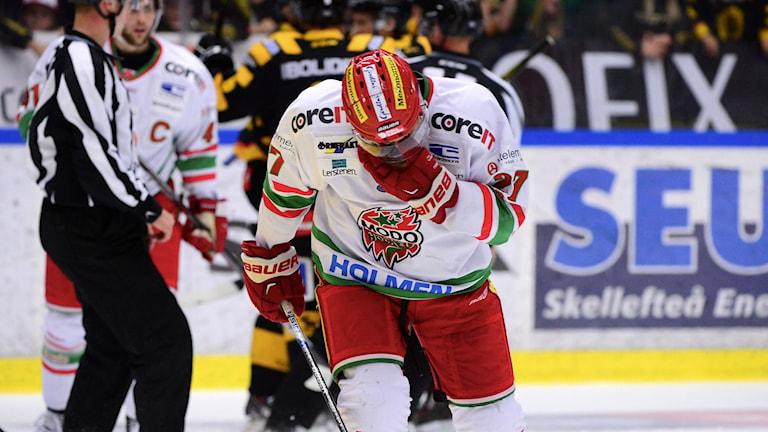 Peter Öberg i Modo Hockey. Foto: Robert Granström/TT
