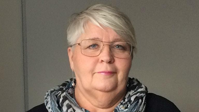 Lillemor Lång, Kommunal Foto: Ingrid Engstedt Edfast/SR