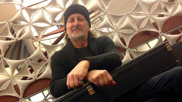 Peter R Ericson. Foto: Karin Lönnå/Sveriges Radio