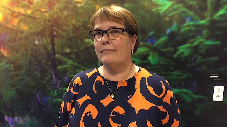 Lena Finne Jansson. Foto: Viktor Åsberg/SR.