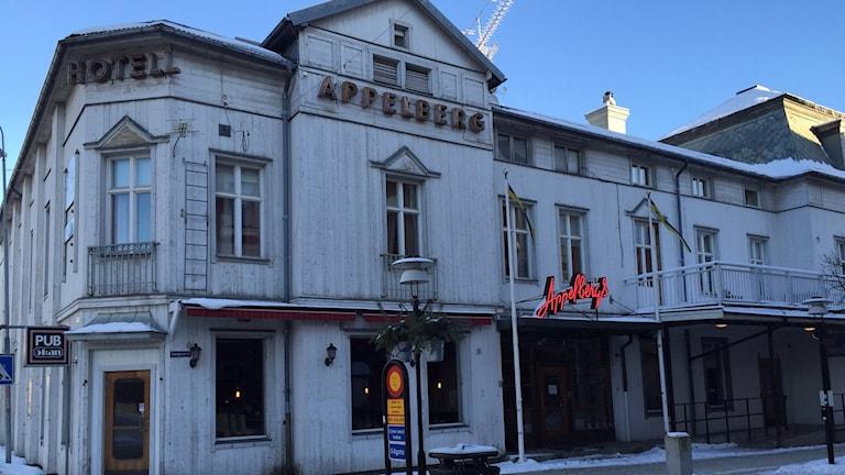 Appelbergs hotell i Sollefteå. Foto: Viktor Åsberg/Sveriges Radio