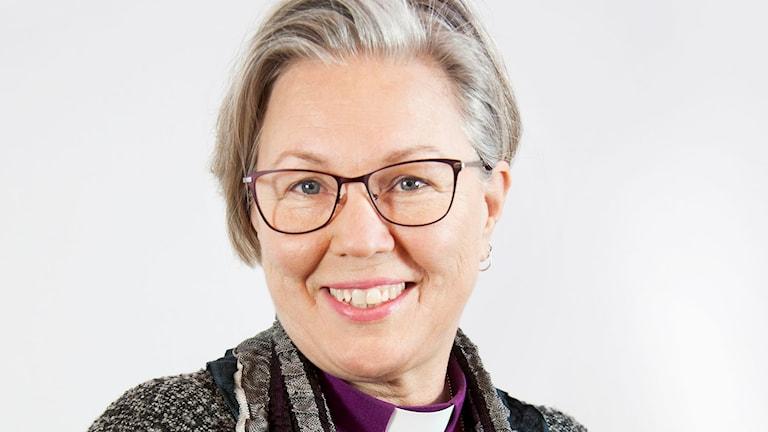 Biskop Eva Nordung Byström, Härnösand stift. Foto: Kerstin Stickler