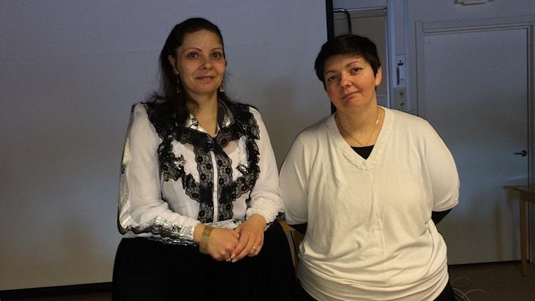 Katja och Kipa (Ingrid) Blomerus. Foto Ulla Öhman
