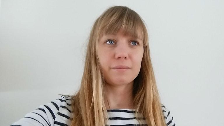 Eleonor Larsson från föreningen Frisk & Fri. Foto: Privat
