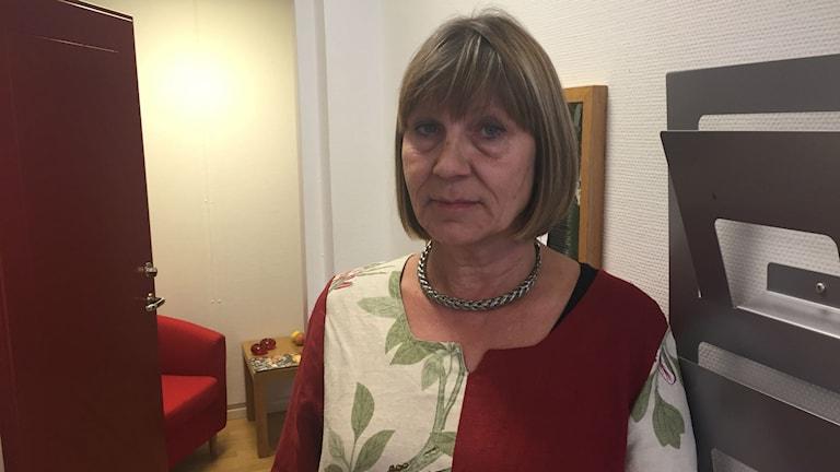 Eva Bergström Selling (S), ordförande i humanistiska nämnden.