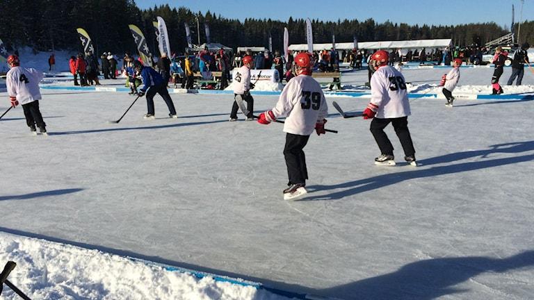 Hockey Hörnsjön.