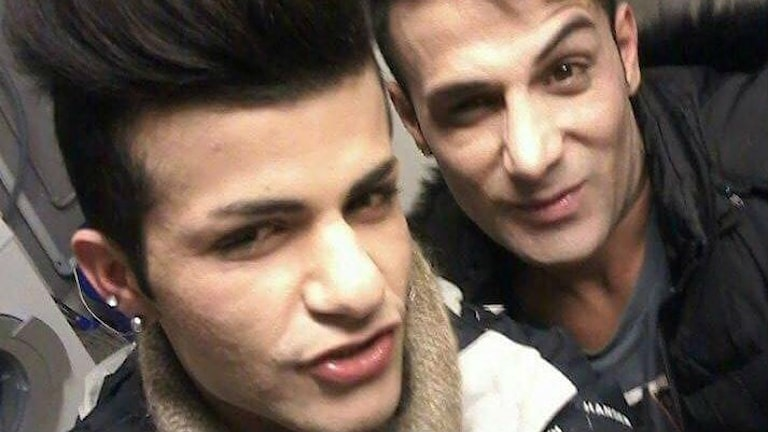 Rawand och Roy som flytt från Kurdistan och sedan trakasseras på asylboendet där de hamnade i Sverige.