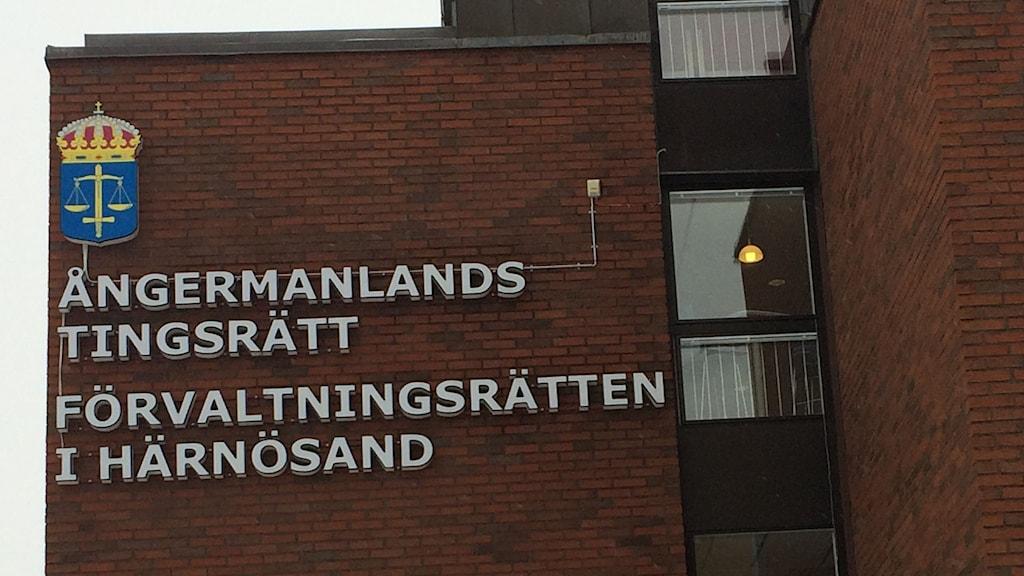 Tingsrätten i Härnösand. Foto: Pether Öhlén/SR