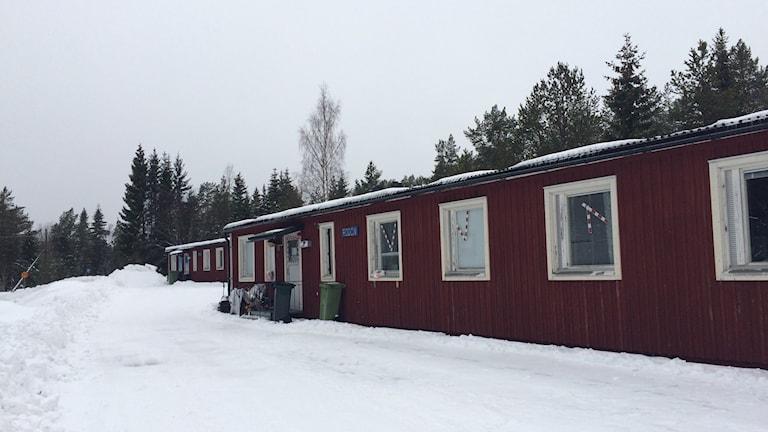 Asylboendet på Åstön.