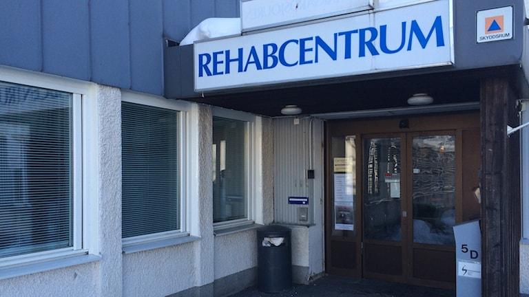 Medicinsk rehab håller till vid sjukhusområdet i Härnösand. Foto Ulla Öhman