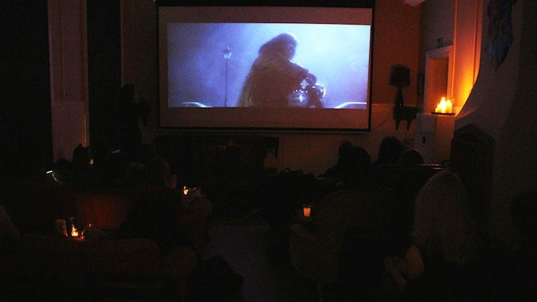 Filmmaraton på Ung film i Sundsvall.
