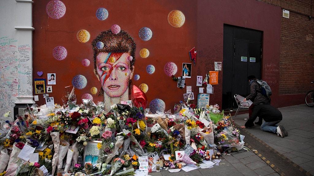 David Bowie hyllas efter sin död