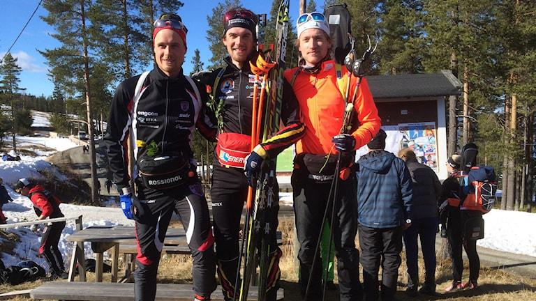 Christoffer Eriksson, Fredrik Lindström och Torstein Stenersen