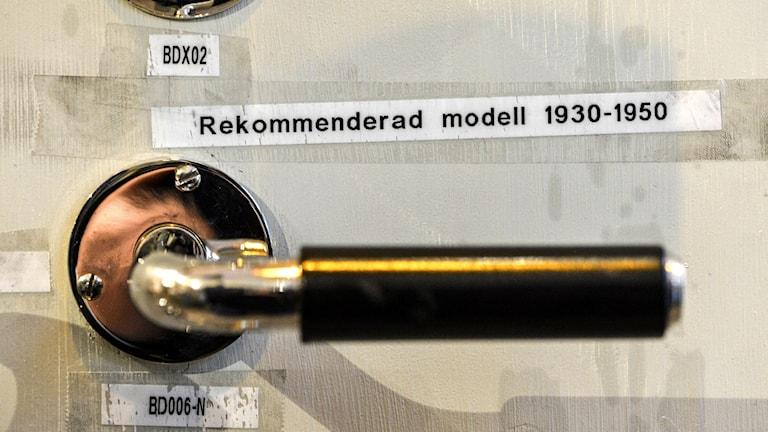Apropå tidigare resonemang i Ordalaget; är det här ett dörrhandtag, ett dörrtrycke eller bådadera ?