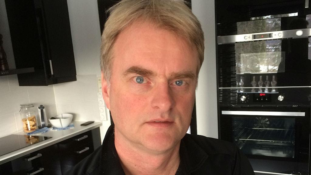 Tomas Byberg, ordförande i Modo hockey. Foto Lennart Sundwall SR