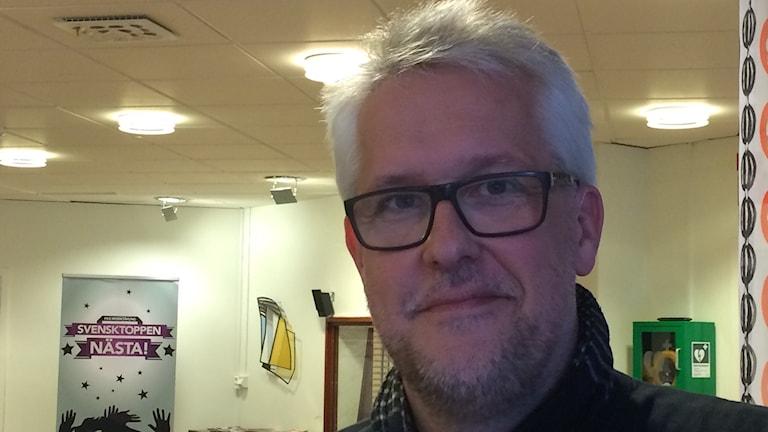 """Erik Sandberg lokal samordnare för EU projektet """"Make Sense"""". Foto: Ingrid Engstedt Edfast"""