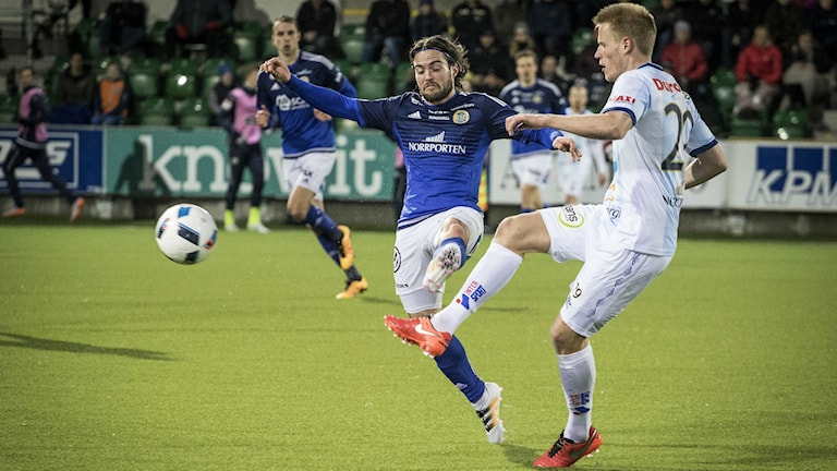 Robbin Sellin i GIF Sundsvall. Foto: Viktor Sjödin/Sveriges Radio