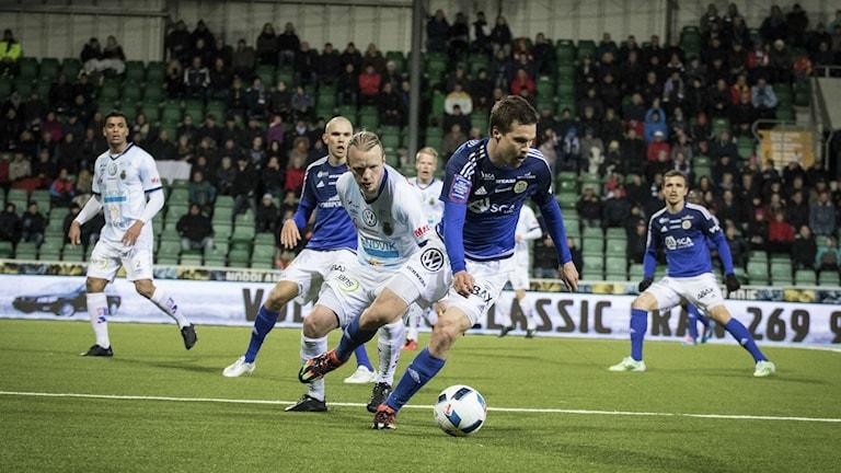 Sebastian Rajalakos i Gif Sundsvall. Foto: Viktor Sjödin/Sveriges Radio