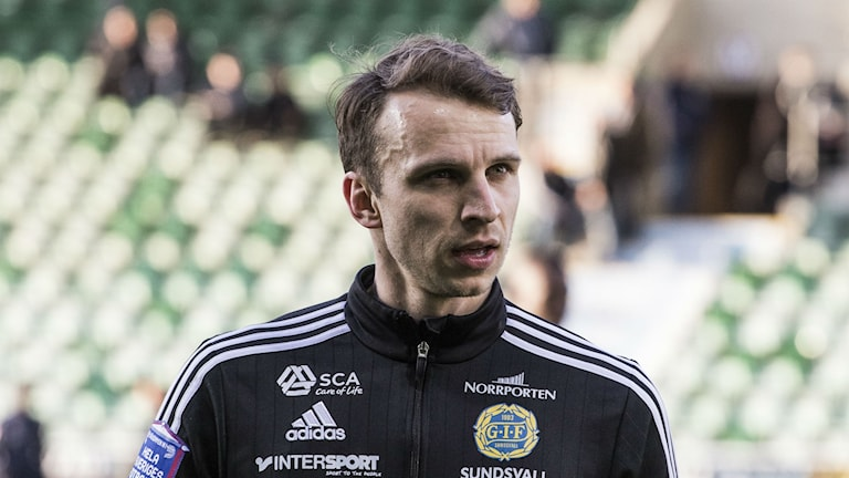 Lars Christian Krogh Gerson i Gif Sundsvall. Foto: Viktor Sjödin/Sveriges Radio