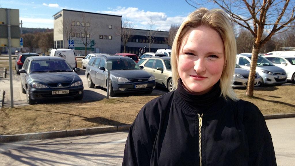 Therese Nyberg ingrep själv och fällde en tjuv till marken. Foto: Lotte Nord/Sveriges Radio
