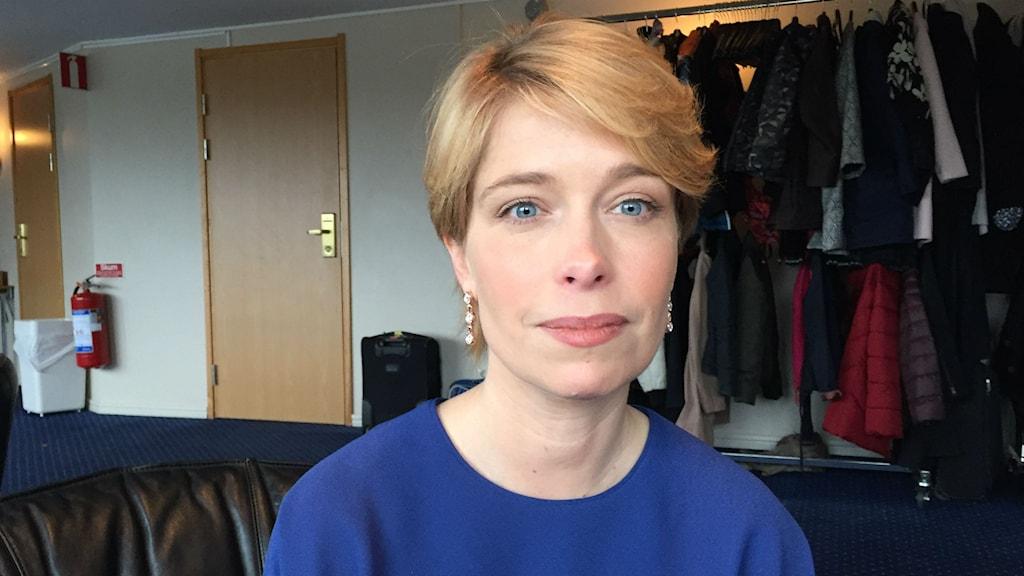 Socialförsäkringsminister Annika Strandhäll (S)