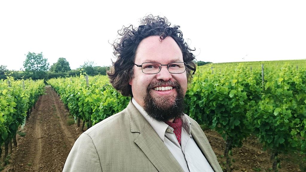 Edward Blom, kulturhistoriker och gastronom. Foto: Gunilla Kinn Blom