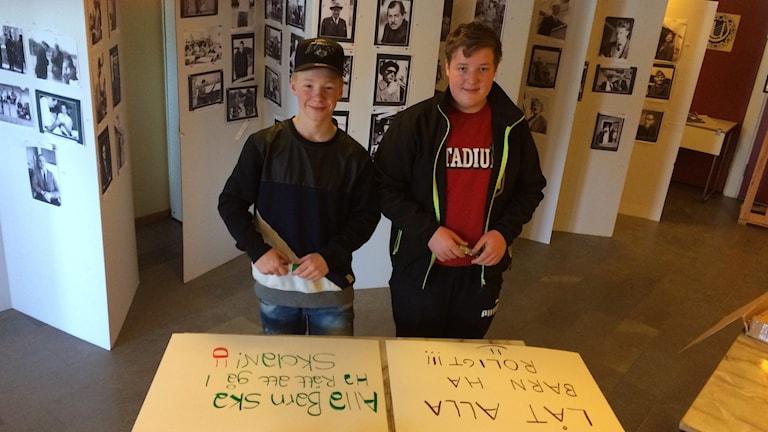 Jonny Swahn och Fredrik Hellström